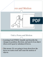 Balanced and Unbalanced Forces and Net Force Notes Powerpoint