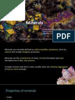 Mineralogía de Rocas Ígneas
