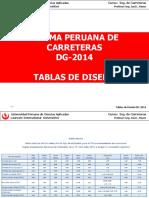 Tablas DG 2014