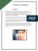 Transtorno Bipolar y Nutricion