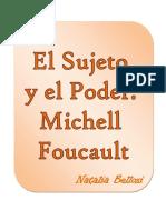 El Sujeto y El Poder Michell Foucault