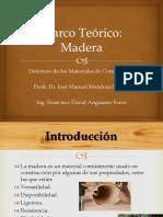 Módulo VIII - Madera