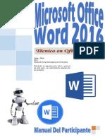 Manual Word 2016