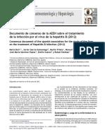 Documento de Consenso VHB de La AEEH