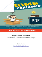 English Idioms Explained - Janet Gerber.pdf