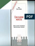 Caracteristicas de Los Proyectos Sociales CERDA (1)
