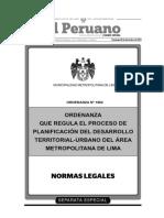 Ordenanza Regula Proceso Planificacion Desarrollo Territorial Urba 1182492 1