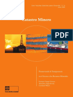 Spanish Version Mining Cadastre CvrTxt