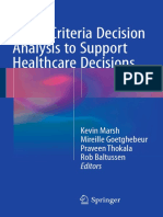 BOOK-Multi-Criteria Decision Analysis to Support Healthcare Decisions
