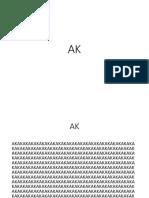 Huruf AK