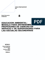 Educacion Ambiental Modulo