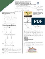 Avaliação Entrada de Matemática3ºA_Nivelamento
