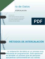 Métodos de Intercalación