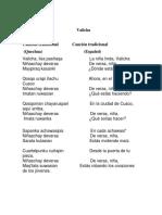 Cancion Quechua Fabri