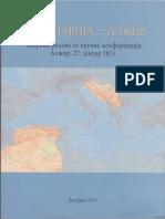 Jugoslavija - Alžir. Zbornik radova sa naučne konferencije. Alžir 27. 1. 2013