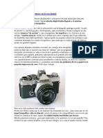 La fotografía en la era digital