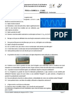 11ª Ficha de Física - Osciloscópio