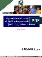 Kemenkes Upaya Promotif Dan Preventif Di Fasilitas Pelayanan Kesehatan Dalam Era BPJS
