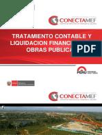 Tratamiento Contable y Liquidacion Financiera de Obras Publicas Parte i