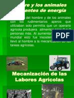 Mecanización de Las Labores Agrícolas