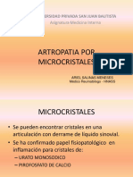 Dr. Salinas - Artropatias Por Cristales