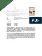 Analisis Kandungan Senyawa Bioaktif Dalam Tepung Yang Dipilih Dan Produk Jagung Ekstrusi Yang Diperkaya