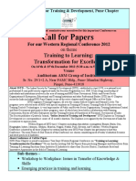 Call for Papers WRC 2012 Dec 12