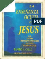 La Enseñanza Oculta de Jesus - Ramiro a. Calle