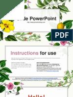 Slide PowerPoint Dep So 44 - Hoa La