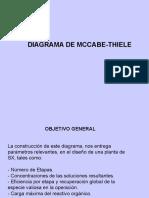 Diseno McCabe Thiele