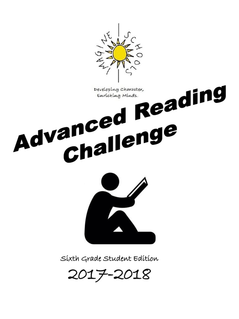 6th grade 2017-2018 advanced reading challenge student