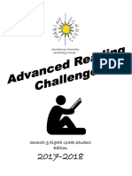 7th   8th  grade 2017-2018 advanced reading challenge student packet
