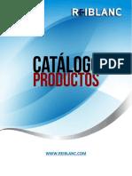 Catalogo de Productos Reiblanc