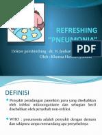 Refreshing Pneumoni