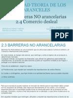 2.3 Barreras NO Arancelarias