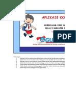 Aplikasi Kkm Tematik Kelas 5 Sem 1