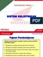 Sistem Listrik Sepeda Motor Honda