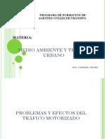 Materia - Medio Ambiente y Tráfico