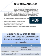 Caso Clinico Oftalmologia