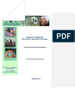 Programa Terapéutico PDC 2015 La Florida Revisado 13 Nov PFD