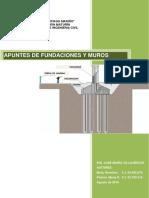 Apuntes de Fundaciones y Muros ( Agosto 2016 )