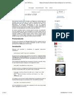 Configurar Un Servidor LTSP