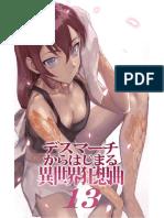 Death March Kara Hajimaru Isekai Kyousoukyoku Cap 13