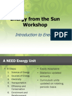 Introduction to Energy Powerpoint