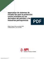 API 2030 Water Spray Sistems.en.Es