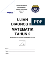 UJIAN DIAGNOSTIK MATEMATIK