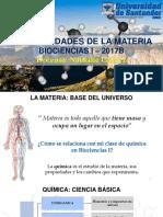 Tema 1. Generalidades de La Materia y Unidades de Medida