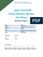 lcmand hcfworksheet1