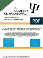 Riesgos Pscosociales y Clima Laboral