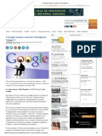 O Google Começa a Censurar a Divergência